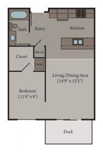 Florence Floor Plan | Studio